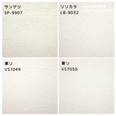 塗り壁調壁紙の候補